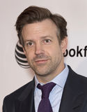 2015 Tribeca Film Festival. Comedian/actor and former Saturday Night Live cast-member Jason Sudeikis arrives on the red carpet at the 14th Annual Tribeca Film Stock Photography
