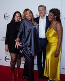 Tribeca Film Festival - Red Carpet before premiere of the Queen Collective. Tribeca Talks - Queen Latifah, Haley Anderson, Marc Pritchard and Brittany Fennell at stock photography