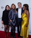 Tribeca Film Festival - Red Carpet before premiere of the Queen Collective. Tribeca Talks - Queen Latifah, Haley Anderson, Marc Pritchard and Brittany Fellon at stock images