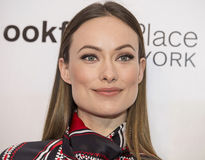 2015 Tribeca Film Festival. Stunning actress Olivia Wilde arrives on the red carpet at the 14th Annual Tribeca Film Festival in New York City on April 18, 2015 Stock Photography
