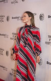 2015 Tribeca Film Festival. Stunning actress Olivia Wilde arrives on the red carpet at the 14th Annual Tribeca Film Festival in New York City on April 18, 2015 Stock Images