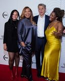 Tribeca Film Festival - Red Carpet before premiere of the Queen Collective. Tribeca Talks - Queen Latifah, Haley Anderson, Marc Pritchard and Brittany Fellon at stock photos
