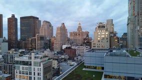 Tribeca und im Stadtzentrum gelegene Skyline 1 Lizenzfreie Stockbilder