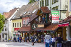 Triberg in Black Forest, Germany Royalty Free Stock Images