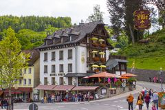 Triberg in Black Forest, Germany Stock Image