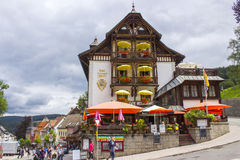 Triberg in Black Forest, Germany Stock Photo