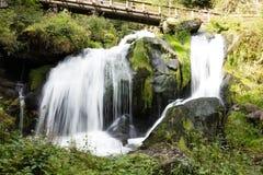 Triberg cade, una di più alte cascate in Germania Fotografie Stock Libere da Diritti