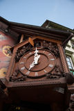 Triberg cuckoo clocks. Black forest tourists vacation in Triberg germany town Royalty Free Stock Images