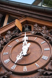 Triberg cuckoo clocks Royalty Free Stock Images