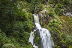 Triberg Falls in Black Forest region, Germany Royalty Free Stock Images