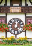 TRIBERG, GERMANY - AUGUST 21 2017: Biggest Cuckoo Clock in the W Royalty Free Stock Image