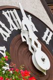 TRIBERG, GERMANY - AUGUST 21 2017: Biggest Cuckoo Clock in the W Royalty Free Stock Photo