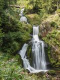 Triberg, Germany - August 17, 2017: Triberg Falls, one of the hi stock photos