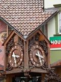 Triberg-Kuckucksuhr Stockbilder