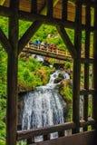 Triberg vattenfall Arkivbild