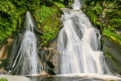 Triberg waterfall in black forest Stock Images