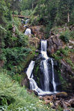 Triberg waterfall Royalty Free Stock Photos