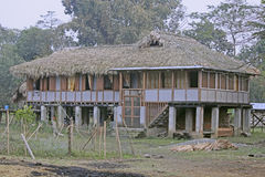 Tribes House Royalty Free Stock Photos
