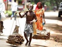 Tribes for livelihood Stock Image