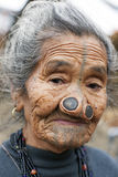 Tribo de Apatani Imagens de Stock Royalty Free