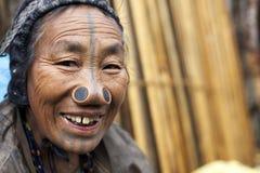 Tribo de Apatani Imagens de Stock