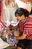 Tribo do monte de Tailândia Fotos de Stock