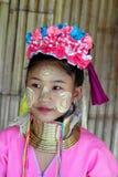 Tribo longo da garganta em Tailândia Fotos de Stock