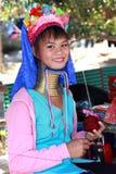 Tribo longo da garganta, Tailândia Imagens de Stock Royalty Free
