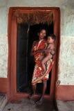 Tribo primitivo Fotografia de Stock Royalty Free