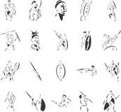 Tribo Zulu Imagens de Stock Royalty Free
