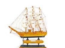Tribord de bateau de voile de cru Photo stock