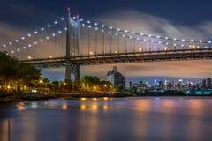 Triboro bro arkivfoton