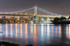 Triboro/RFK γέφυρα στην πόλη της Νέας Υόρκης Στοκ εικόνες με δικαίωμα ελεύθερης χρήσης