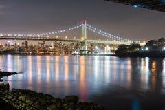 Triboro/RFK γέφυρα στην πόλη της Νέας Υόρκης Στοκ Εικόνα
