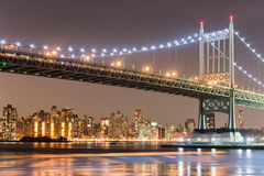 Triboro/RFK most w Miasto Nowy Jork Fotografia Royalty Free