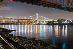 Triboro/RFK most w Miasto Nowy Jork Obrazy Stock