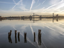 Triborough-Brücke, Robert F Kennedy Bridge stockfoto