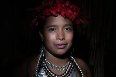 Tribu d'Embera Images libres de droits