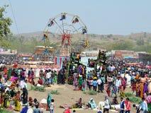 Tribu de Bhil justa Imagen de archivo libre de regalías