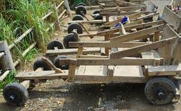 Tribu de côte emballant la roue 4 Image stock