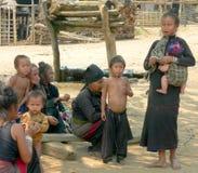 Tribu de Enn. Myanmar Foto de archivo libre de regalías