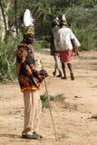 Tribu de Hamar dans la vallée d'Omo de l'Ethiopie Image stock