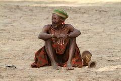 Tribu de Hamar dans la vallée d'Omo de l'Ethiopie Photos stock