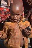 Tribu de Himba Imagen de archivo libre de regalías