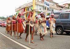 Tribu del Moi, festival cultural 2017 Imágenes de archivo libres de regalías