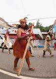 Tribu del Moi, festival cultural 2017 Foto de archivo