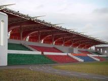 A tribuna coberta dos esportes Foto de Stock Royalty Free