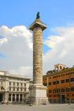 Tribuna-colonna romana Fotografie Stock