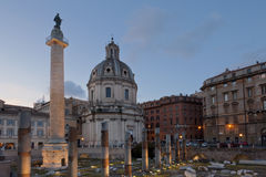 Tribuna del Trajan Immagine Stock