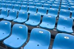 Tribuna dello stadio diagonalmente Fotografie Stock